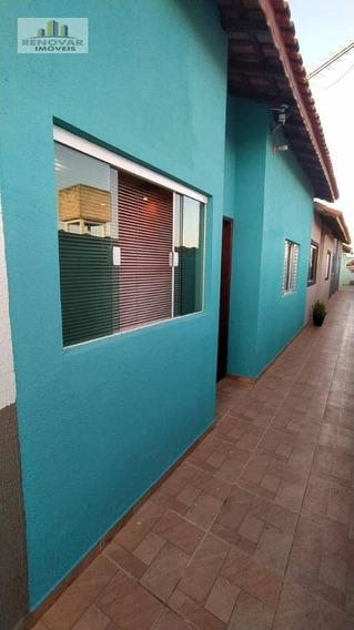 Casa Com 2 Dormitórios À Venda Por R$ 190.000 - Vila São Paulo - Mogi Das Cruzes/sp - Ca0401