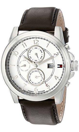 Tommy Hilfiger 1710294 Reloj De Acero Inoxidable Con Correa