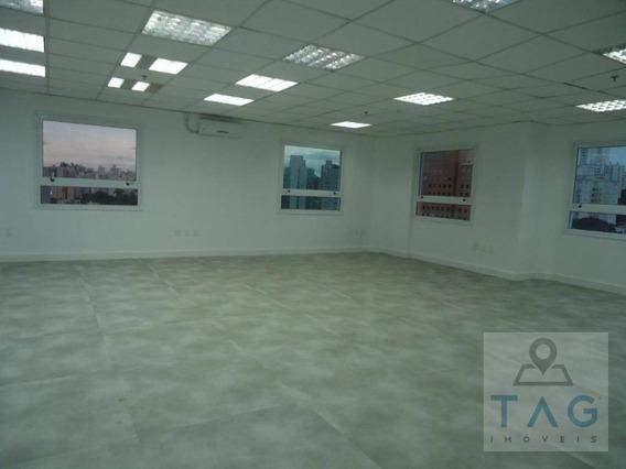 Sala Comercial Para Locação Com 240 Metros Quadrados No Cambuí Em Campinas - Sp. - Sa0093