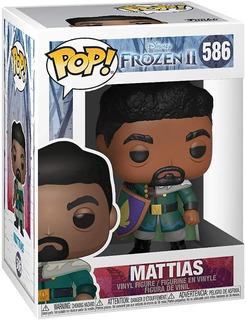 Funko Pop Disney Frozen 2 Mattias 586 Original Nuevo Educand