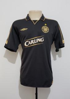 Camisa Futebol Oficial Celtic Escócia 2003 Away Umbro M