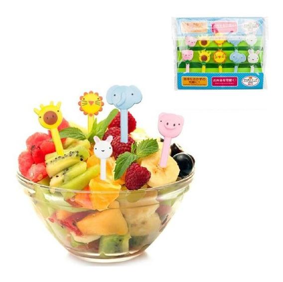 Kit 10 Garfos Infantil Bichinhos Alimentação Bebê Crianças