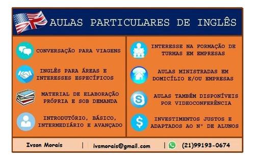 Aulas De Inglês - R$25