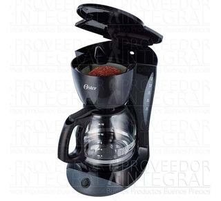 Cafetera Negra De 12 Tazas Con Filtro Permanente Oster