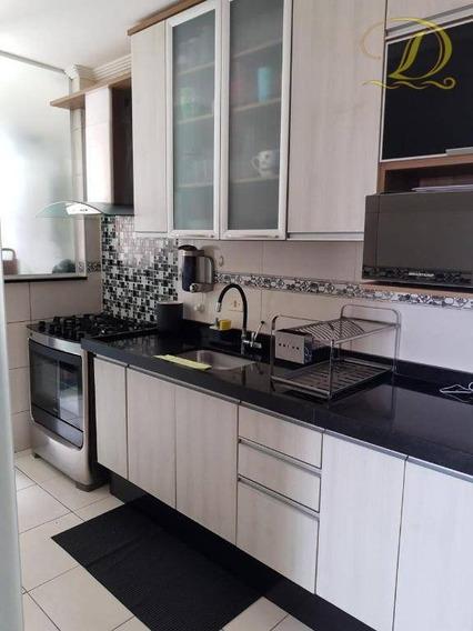 Apartamento Mobiliado De 2 Quartos Com Lazer E Churrasqueira Na Sacada À Venda Na Vila Tupi!!! - Ap3044