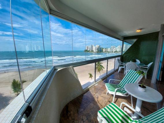 Guarujá Sp - Praia Das Astúrias - Frente Total Para O Mar - 2 Vagas - 4 Dormitórios Sendo 2 Suítes - Ap05240 - 68149123