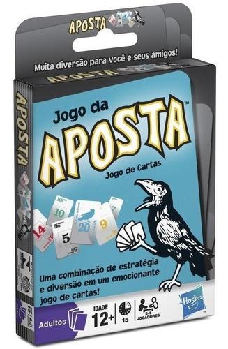 Jogo De Cartas O Jogo Da Aposta De Estrategia Hasbro 02104