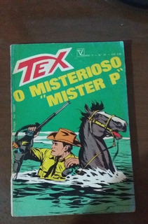 Tex 24 Misterioso Mister P 1973 Vecchi 1a Edicao Colecao