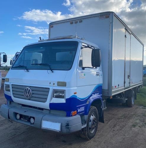 Camión Volkswagen 9150e C/furgón Y Plataforma Hidraulica