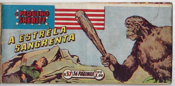 1951 Hq Quadrinhos O Pequeno Sheriff Nº 57 Vecchi