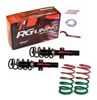 Amortiguadores Regulables Espirales Progresivos Vw Up Rgkit