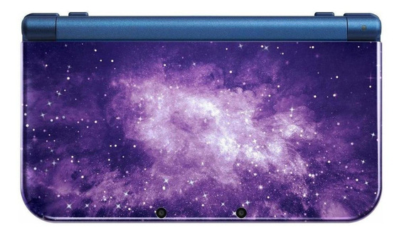 Nintendo New 3DS XL Galaxy Style violeta/azul