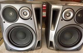 Caixa De Som Aiwa Sx-ns94yl Micro System Aiwa Acústica