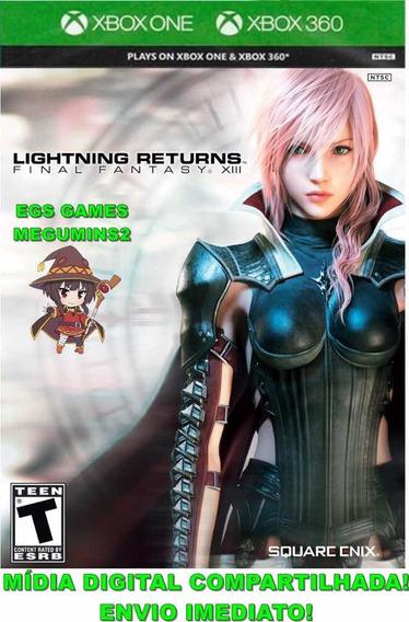 Final Fantasy Xiii Lightning Returns Mídia Digital Xbox