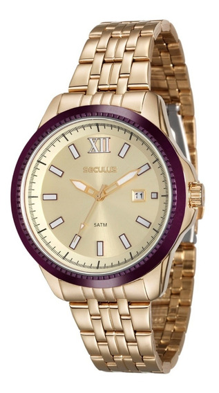 Relógio Secullus Feminino 20477lpsvds2 Promoção