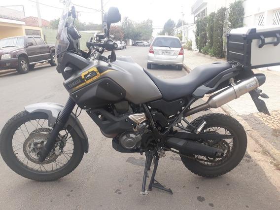 Yamaha Tenere 660 2014 Cinza - Impecável - Xt660z - Baixa Km