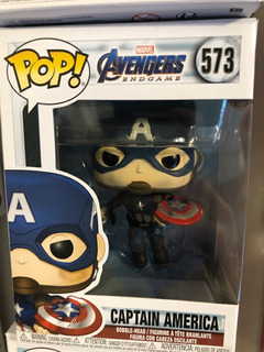 Avengers Endgame Captain America W Broken Shield Pop! 573