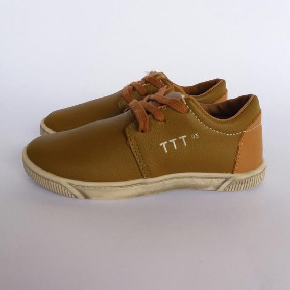 Tênis Infantil Tigor T Tigre Ttt 93 Marrom Masculino 6674001