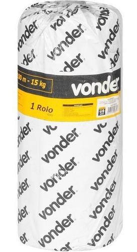 Imagem 1 de 2 de Lona Preta 100 X 4 Metros - Vonder - Proteção - Obras E Etc