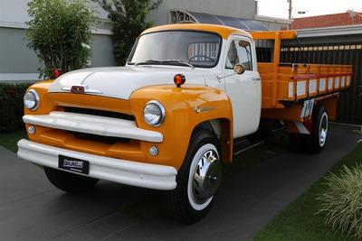 Chevrolet/gm Caminhão Chevrolet Brasil 1958