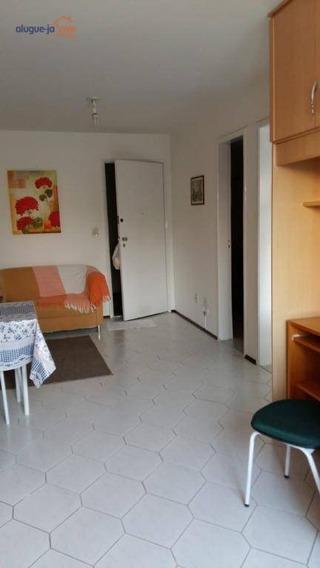 Linda Kitnet Mobiliada Com 1 Dormitório Para Alugar, 52 M² Por R$ 1.100/mês - Jardim São Dimas - São José Dos Campos/sp - Kn0044
