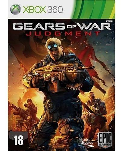 Gears Of War Judgment Xbox 360 Lacrado Totalmente Em Port