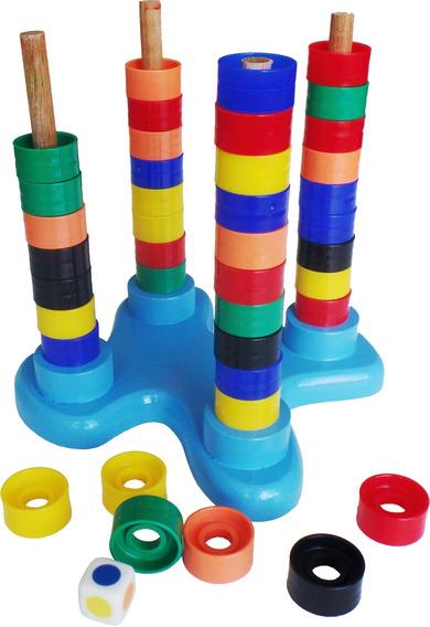 Brinquedo Educativo Jogando Com As Cores Infantil À Vista