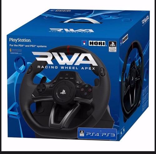 Imagen 1 de 3 de Volante Hori Racing Wheel Apex Sony Ps3 Ps4 Sellado Ade