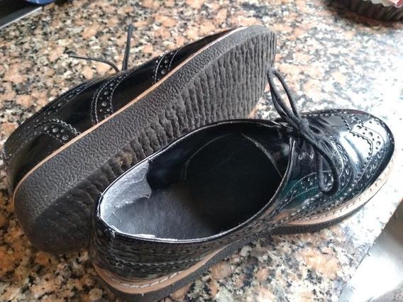 Zapato Mocasín Nazaria - Talle 35 - Casi Nuevos