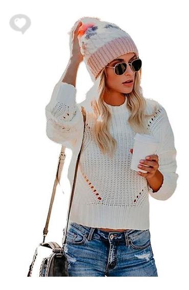 Sweater Tejido Básico - Art. Bali - Espacio De Bellas!