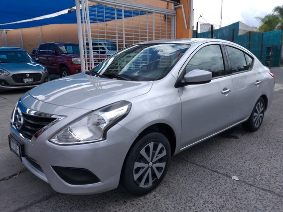 Nissan Versa 1.6 Sense Mt 2017,unico Dueño,factu Ori Credito