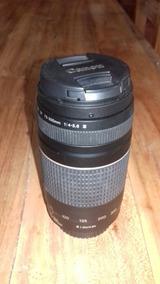 Lente Canon 75-300 Semi Nova, Pouco Usada.