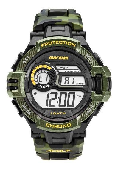 Relógio Mormaii Masculino Acquaforce Camuflado Mo11348v