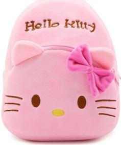Mochila Infantil Hello Kitty - Escolha A Sua Cor - 2 Opções