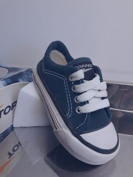 Zapatillas Clásicas Topper Lona.