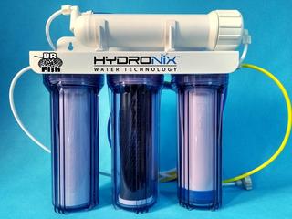 Filtro Osmose Reversa E Deionizador 100gpd Aquario Transpare