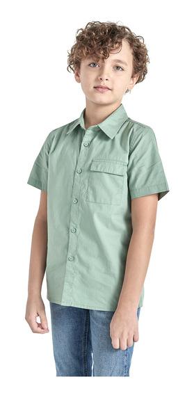 Camisa Manga Corta De Niño C&a (1062213)