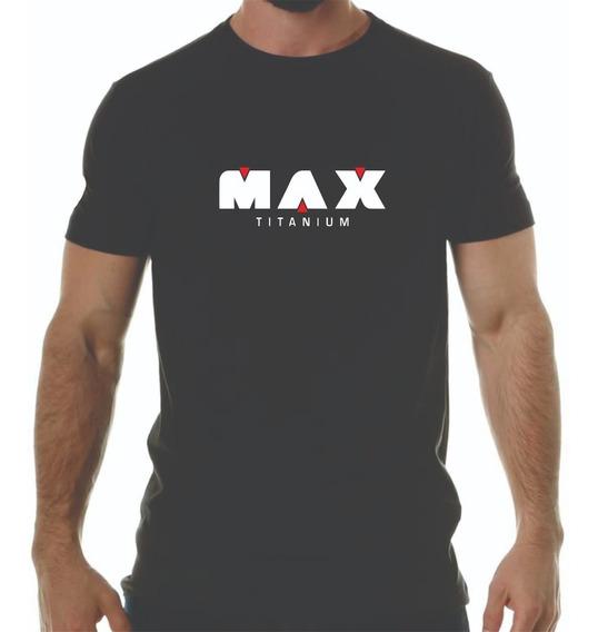 Camiseta Max Titanium