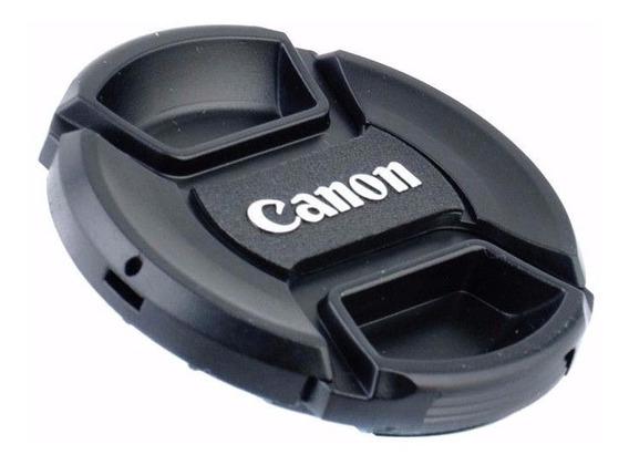 Tampa Frontal Para Lente 49mm Canon Serve 50mm 1.8 Stm Nova