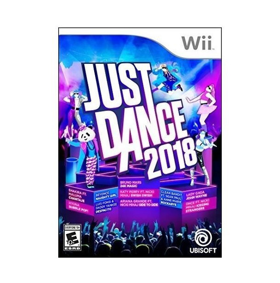 Just Dance 2018 - Wii - Mídia Física