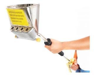 Lanzadora De Mortero Concreto Revocadora Pañetadora + Mang