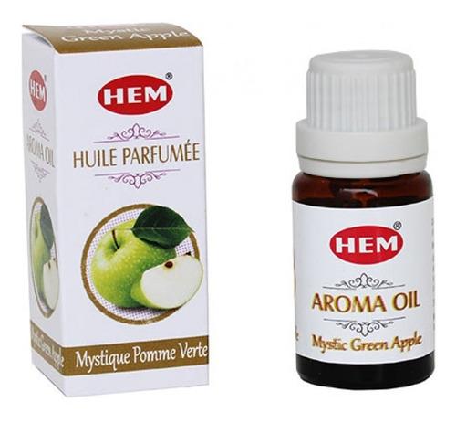 Essência Indiana Hem Mystic Green Apple / Maçã Verde - 10ml