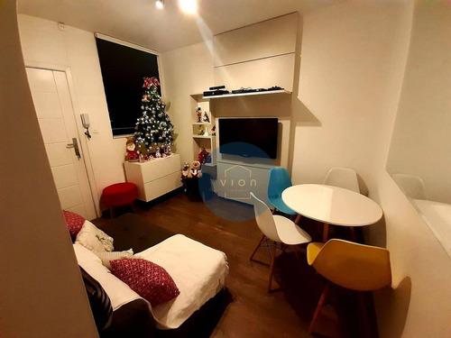 Apartamento Com 2 Dormitórios À Venda, 58 M² Por R$ 450.000,00 - Consolação - São Paulo/sp - Ap0098
