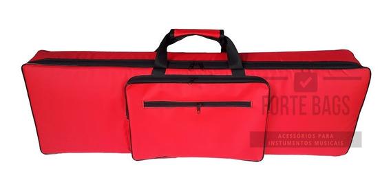 Capa Bag Para Teclado Korg Pa-3x 76 Teclas