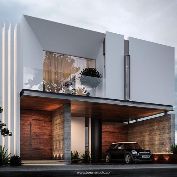 Pre-venta Casa Nueva En Coto En Solares Residencial, Zapopan