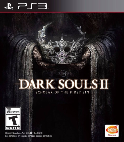 Dark Souls 2 The First Ps3 Original Envio Imediato Psn!