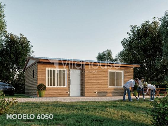 Vilahouse Cabañas Prefabricadas Modelo 6050 2 Dorm + 1 Baño