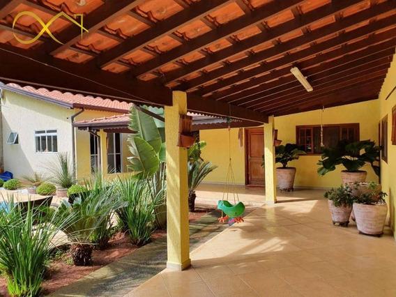 Chácara Com 3 Dormitórios À Venda, 1050 M² Por R$ 725.000,00 - Recanto Feliz - Paulínia/sp - Ch0098