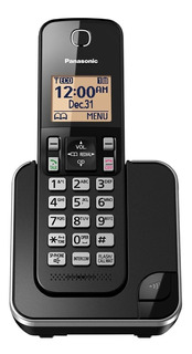 Teléfono inalámbrico Panasonic KX-TGC352 negro