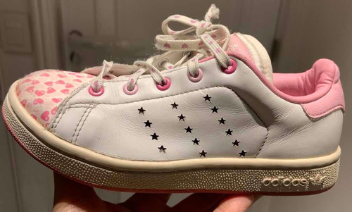 Zapatillas adidas Nena Stan Smith Talle Us13 31  Buen Estado